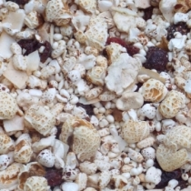 Cranberry and Coconut 4 Puffed Crunch - Click here to view and order this product